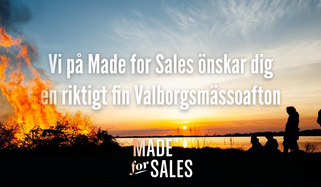 Glad Valborgsmässoafton!